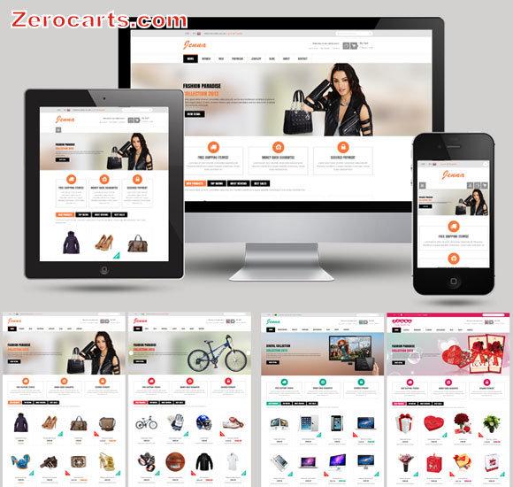 SNS Zenna - Responsive Multipurpose Magento Theme templates