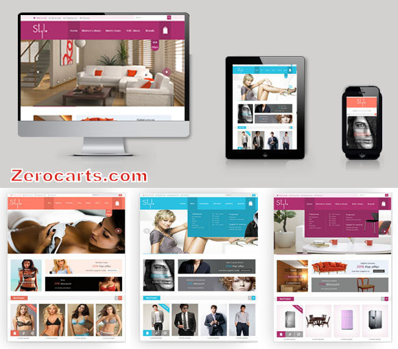 Style Shop Multi Color Responsive Opencart Theme templates