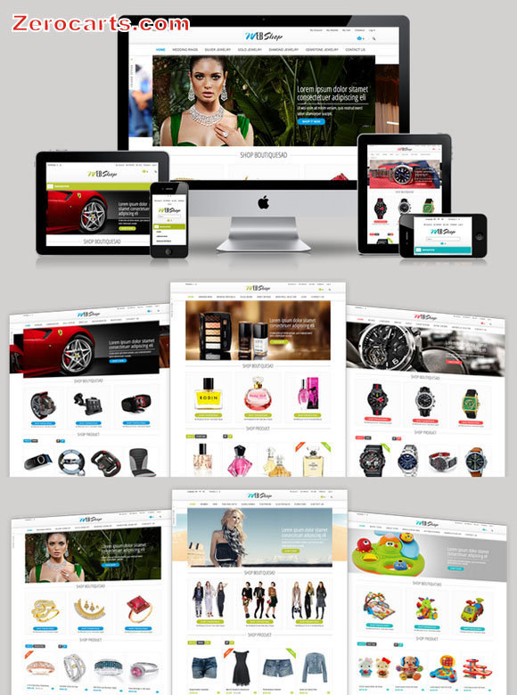 WebShop - Multi-Purpose Responsive Magento Theme templates