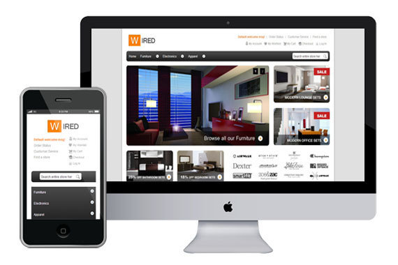 HelloWired - Free Responsive Magento Theme