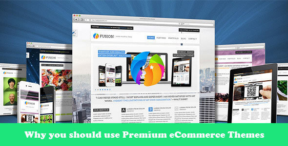 use premium ecommerce themes