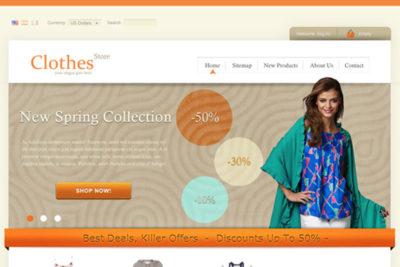 ClothesStore – Free Prestashop Themes