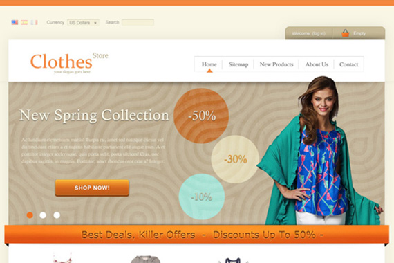clothes-store-free-prestashop-template
