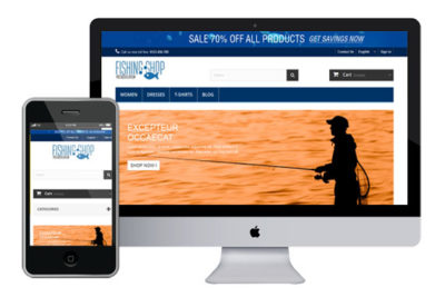 Fishing – Free Prestashop Themes