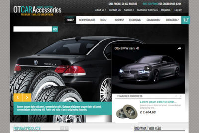 OT CarAccessories – Free Prestashop Themes