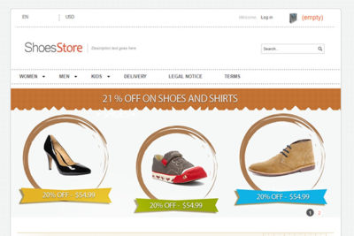 ShoesStore – Free Prestashop Themes