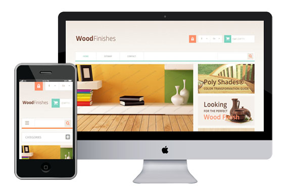 WoodFinishes - Responsive Bootstrap Themes