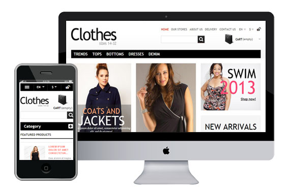 clothes free responsive prestashop themes