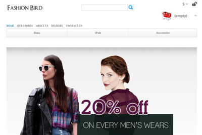 FashionBird – Free Prestashop Theme