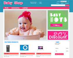 thumb Baby Shop free prestashop