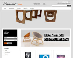 Furniture3 – Free Prestashop Theme