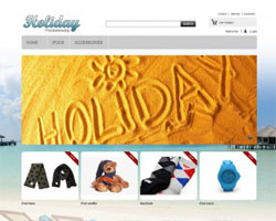 thumb Holiday free prestashop theme