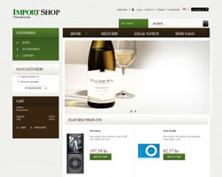 Import – Free Prestashop Theme