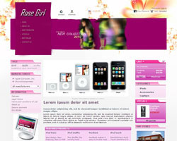 thumb Rose Girl free prestashop theme