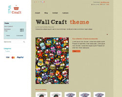 thumb WallCraft free prestashop theme