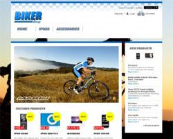 BikerShop - Free Prestashop Theme