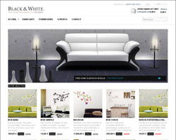 Black&White – Free Prestashop Theme
