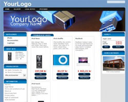 thumb blue free prestashop theme