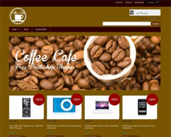 CoffeeCafe - Free Prestashop Theme