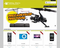 FishingStore - Free Prestashop Theme