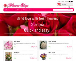 Flower – Free Prestashop Theme