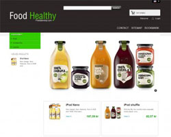 FoodHealthy - Free Prestashop Theme