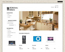 Kitchen - Free Prestashop Theme