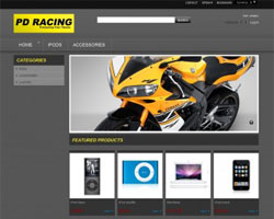 Racing - Free Prestashop Theme