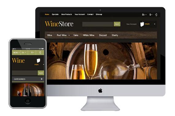 winestore Free Responsive PrestaShop Theme