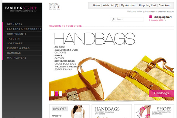 Fashion Free Opencart Themes