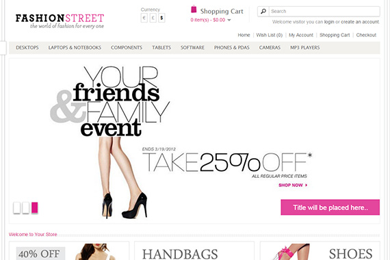 Fashionista Free Opencart Themes