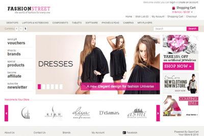 FashionStreet – Free Opencart Theme