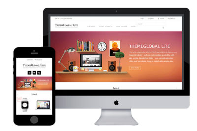 ThemeGlobal – Free Opencart Theme