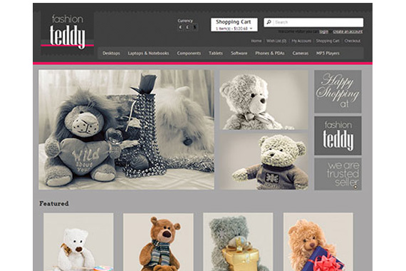 FashionTeddy - Free Opencart Theme