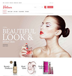 Vetiver free responsive opencart template thumb
