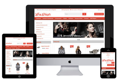 zFashion – Free Opencart Theme