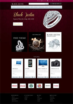 luxury free responsive opencart theme