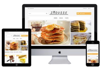 zMousse – Free Prestashop Theme