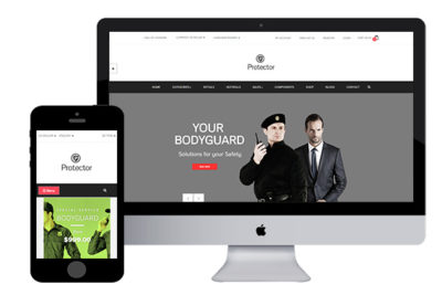 Protector – Free Opencart Template