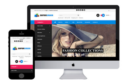 SuperSaver – Fashion Opencart Theme