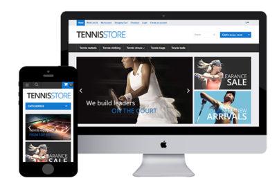 TennisStore – Free Opencart Template