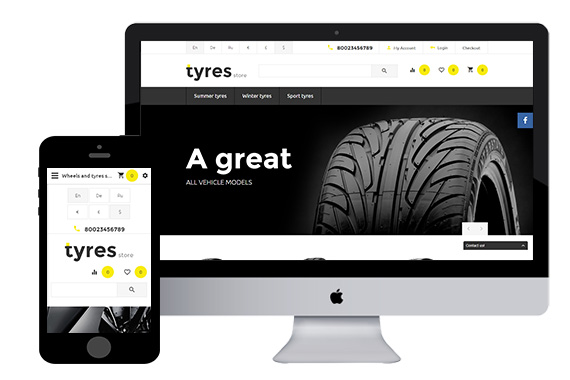 TyresStore Free Opencart Themes