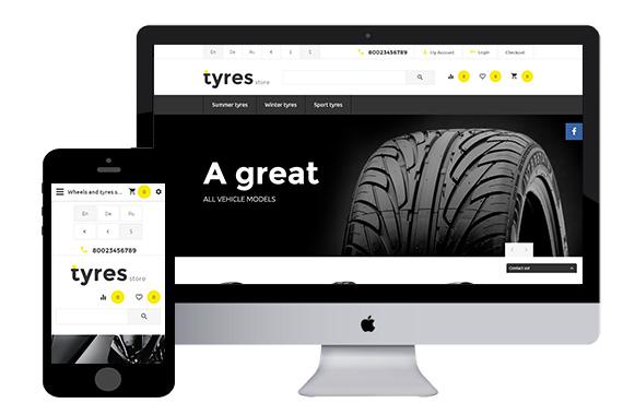 TyresStore - Wheel Opencart Template