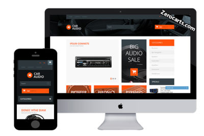 CarAudio – Free Prestashop Theme