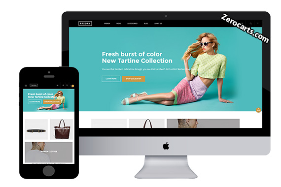 99 best free magento themes premium magento themes zerocarts pronofoot35fo Gallery