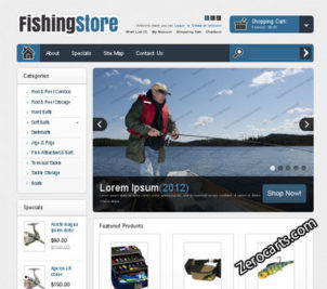FishingStore – Free Opencart Theme