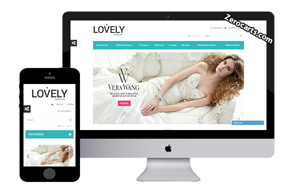 Lovely Free Prestashop Template