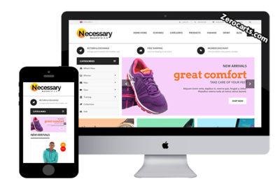 Necessary – Free Magento Theme