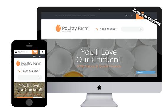 PoultryFarm Free Opencart Theme