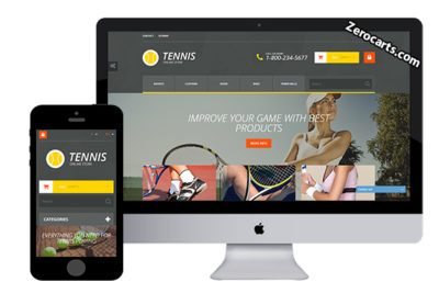 TennisStore – Free Prestashop Theme
